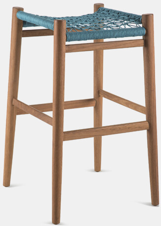 Nguni Backless Barstool