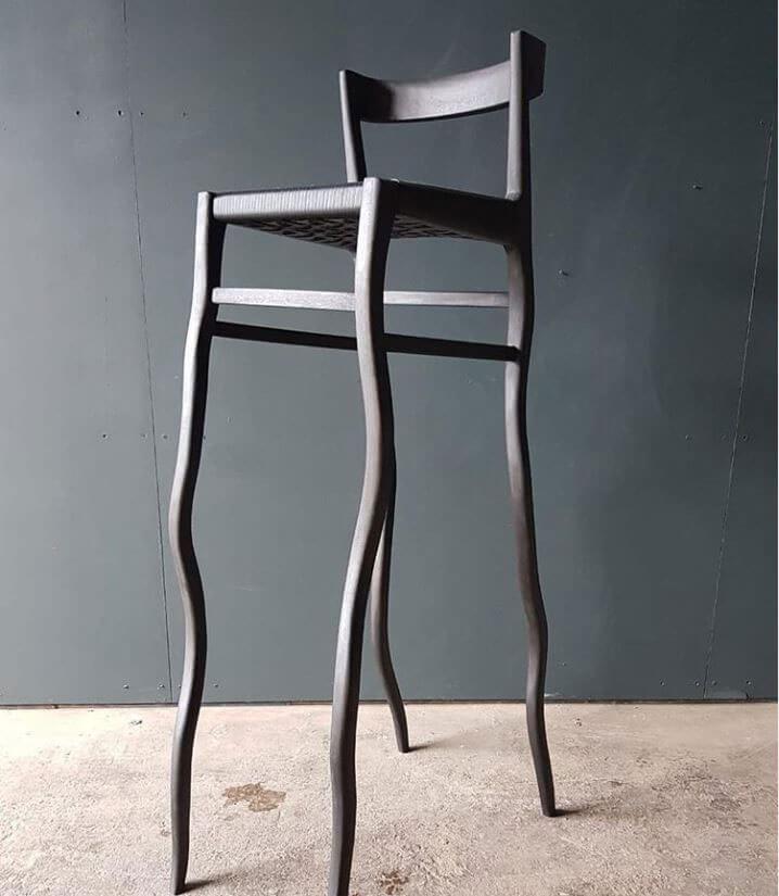 Odi High Chair - Ash Black